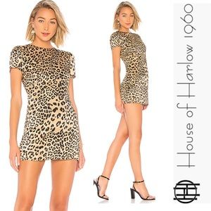 House of Harlow Leopard Print Dress (Delphine)
